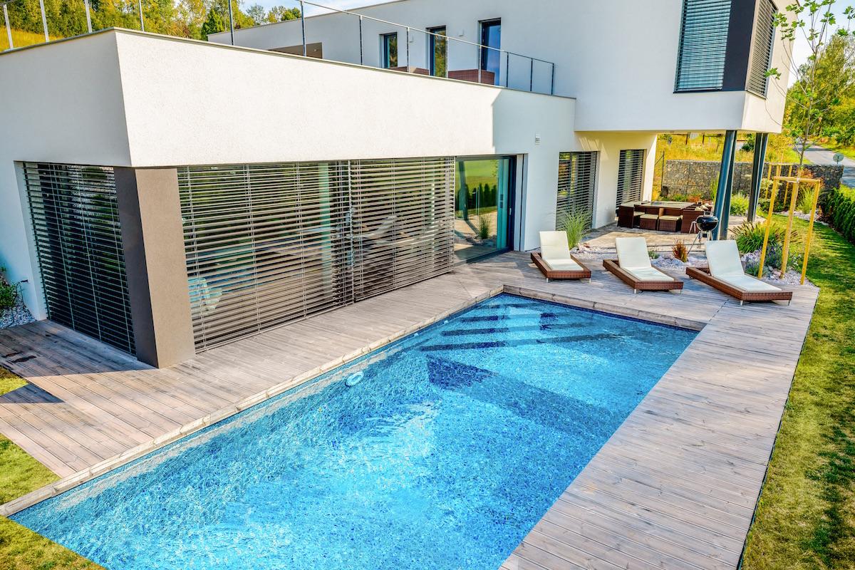 Stavebnicový bazén