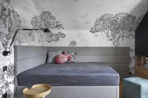 Místnost s postelí