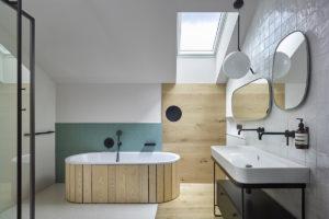Koupelna strešní okna