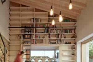 Severní stěna jako knihovna