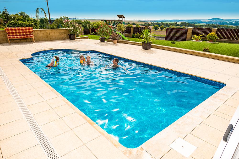 Design-kompozitní bazén Métropole, typ Monaco