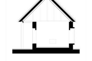 Návrh domu řez