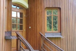 Dřevostavba vycházející z principů feng-šuej