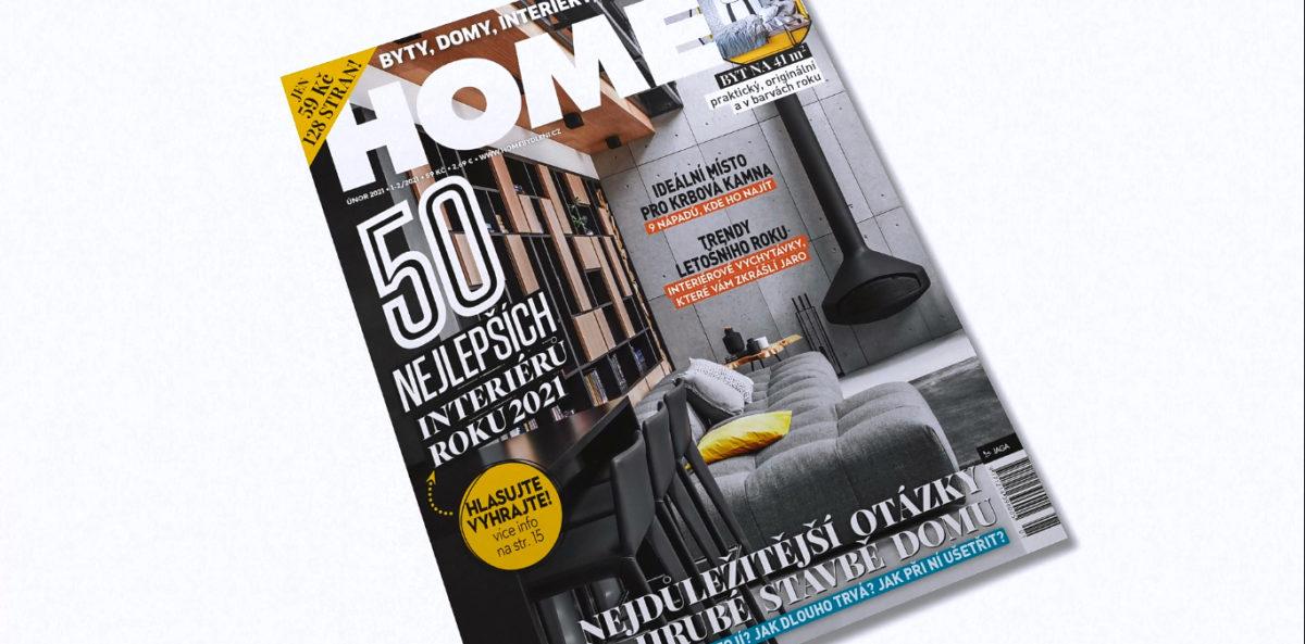 Nové vydání časopisu HOME 1-2/2021 právě v prodeji
