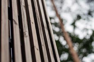 Dřevěný obklad detail