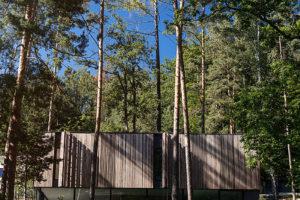 Drevěný obklad horního podlaží
