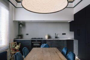Jídelna a kuchyň