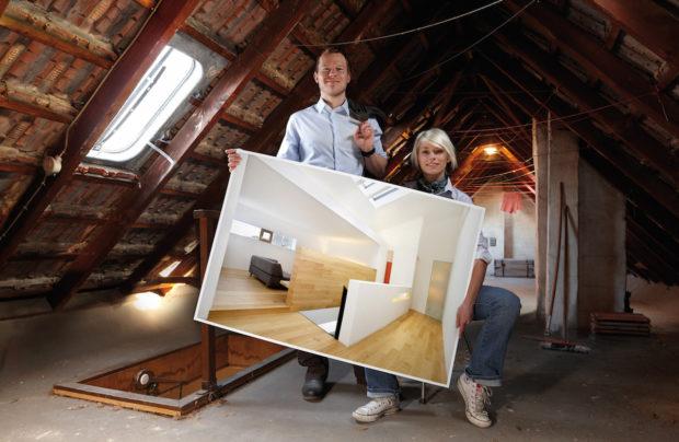 Použití parozábrany v šikmé střeše