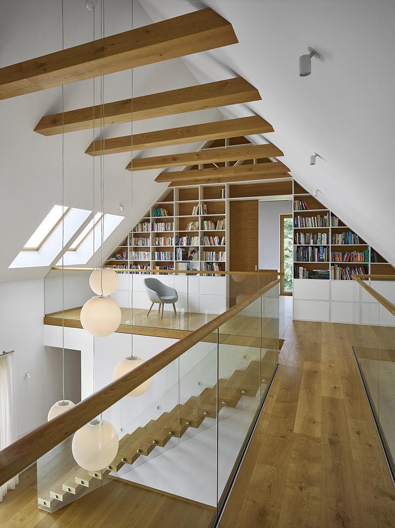 Hambálková konstrukce v interiéru