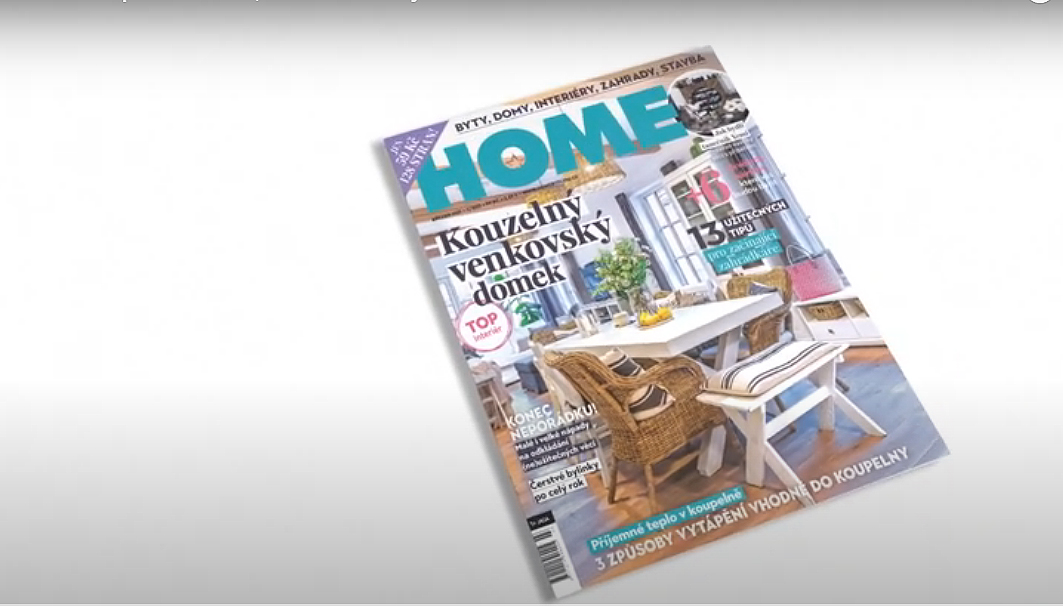 Vychází březnové číslo časopisu HOME