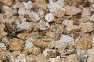 Exfoliovaný perlit a vermikulit textura