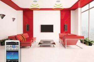 Aktivní podhledové WiFi reproduktory - sada RP 110 + JPM