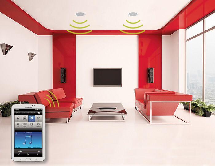 Vyhrajte bezdrátové skryté ozvučení – aktivní WiFi reproduktory DEXON RP 110