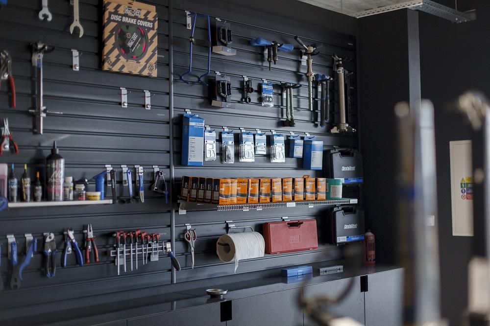 úložný garážový systém Reponio