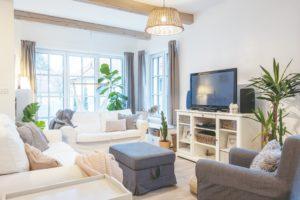 Obývací pokoj v provence stylu