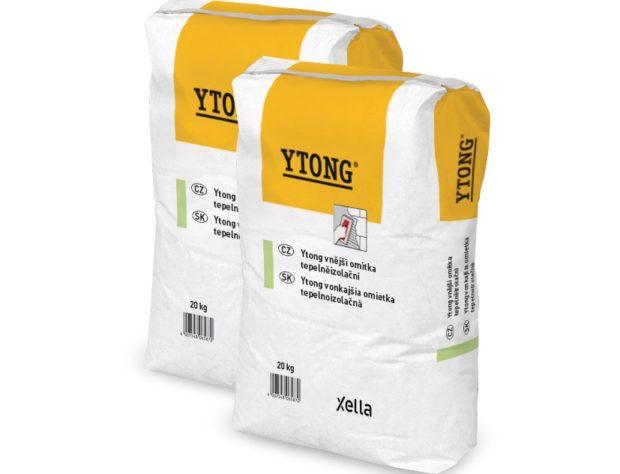 Systémové omítky Ytong si dokonale rozumí s obvodovými stěnami a příčkami z tvárnic Ytong a Silka