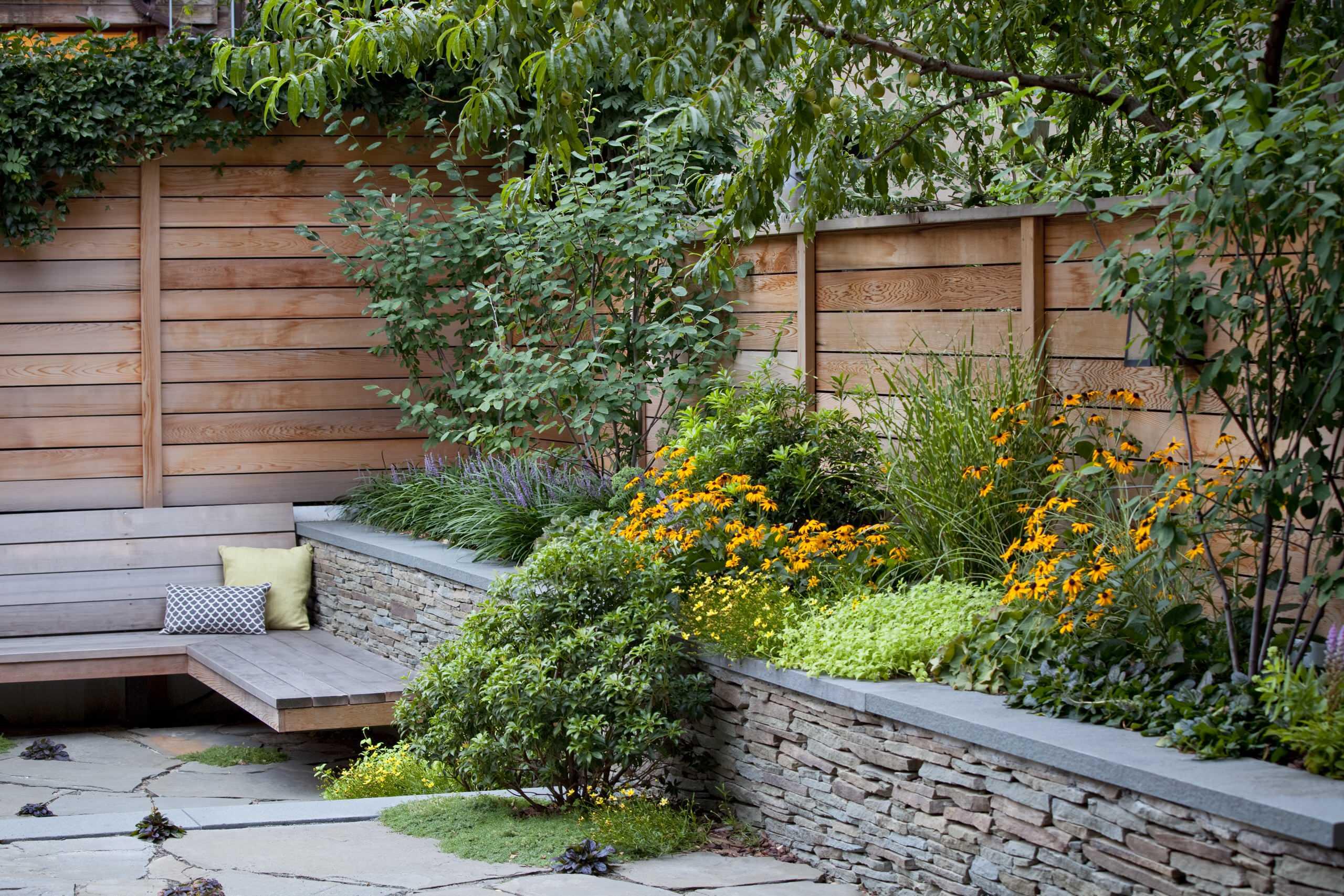 Zahrada se záhonem