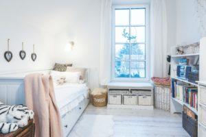 Dětský pokoj v bílé