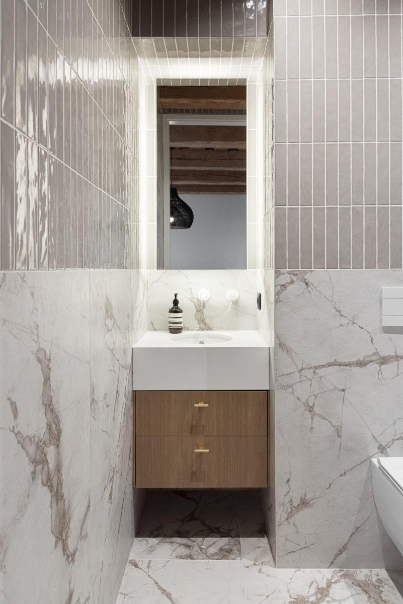 Koupelna s mramorem