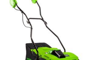AKU vertikutátor Greenworks G40DT35 40V