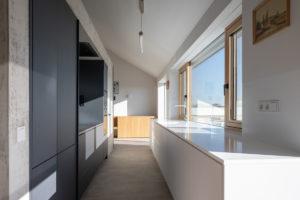 Horní podlaží kuchyň