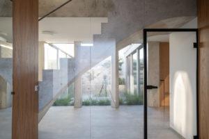Atrium rodinného domu