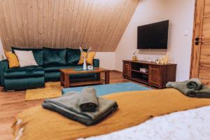 Apartmá v horské chatě