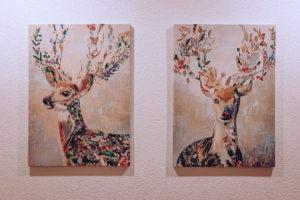 Obrazy jelena