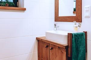 Koupelna v chatě
