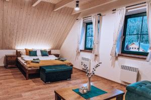 Apartmá v chatě