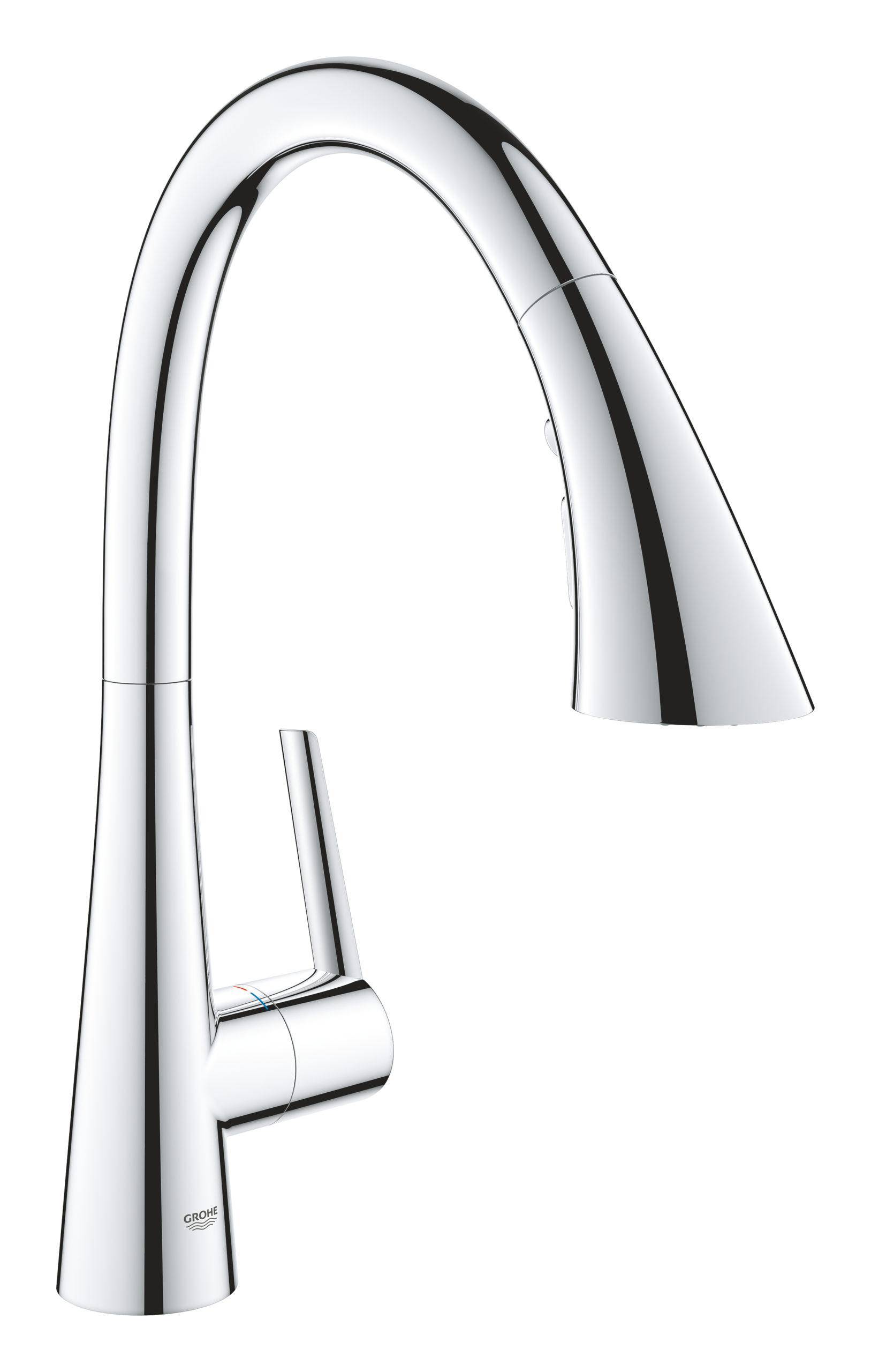 GROHE Zedra Single-lever sink mixer_Chrome_32294002