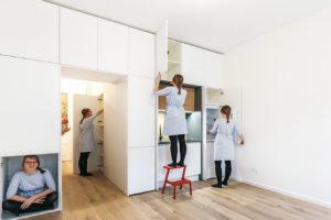 Malý byt s úložným prostorem