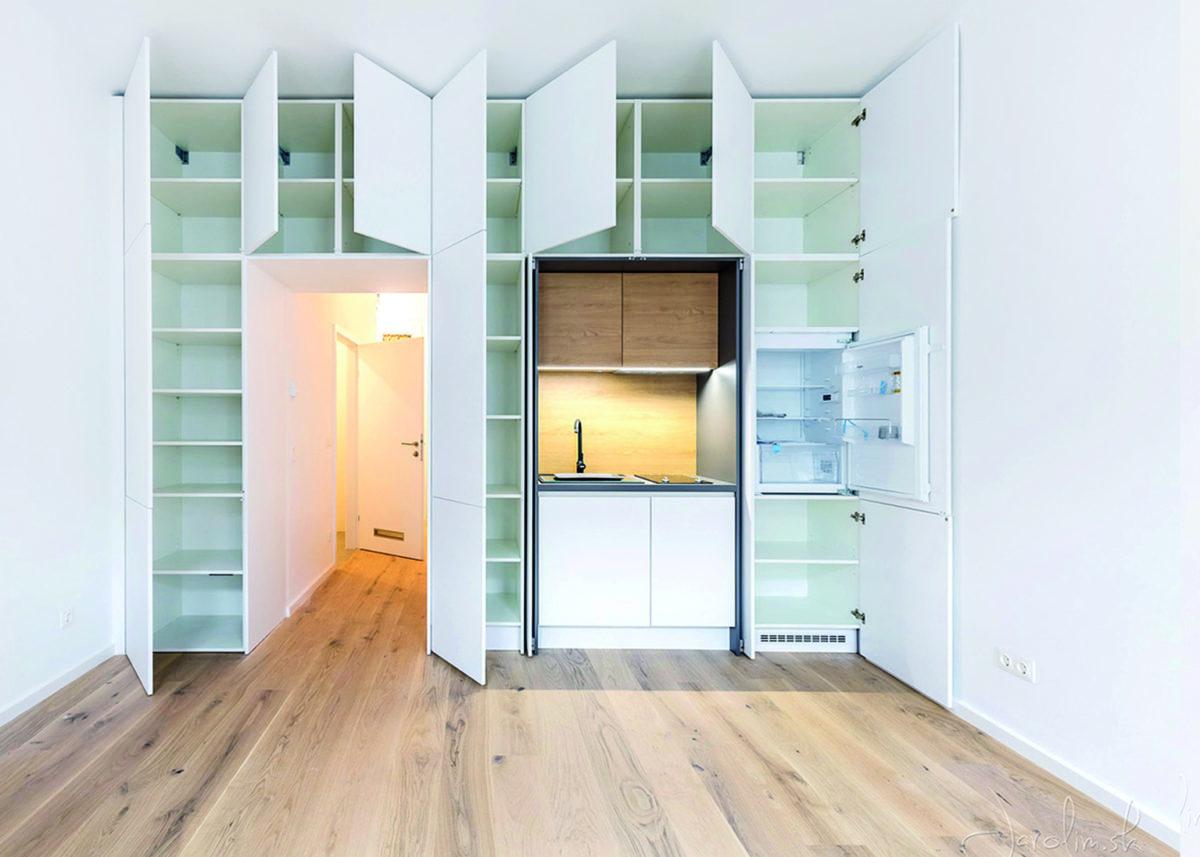 Malý byt prakticky