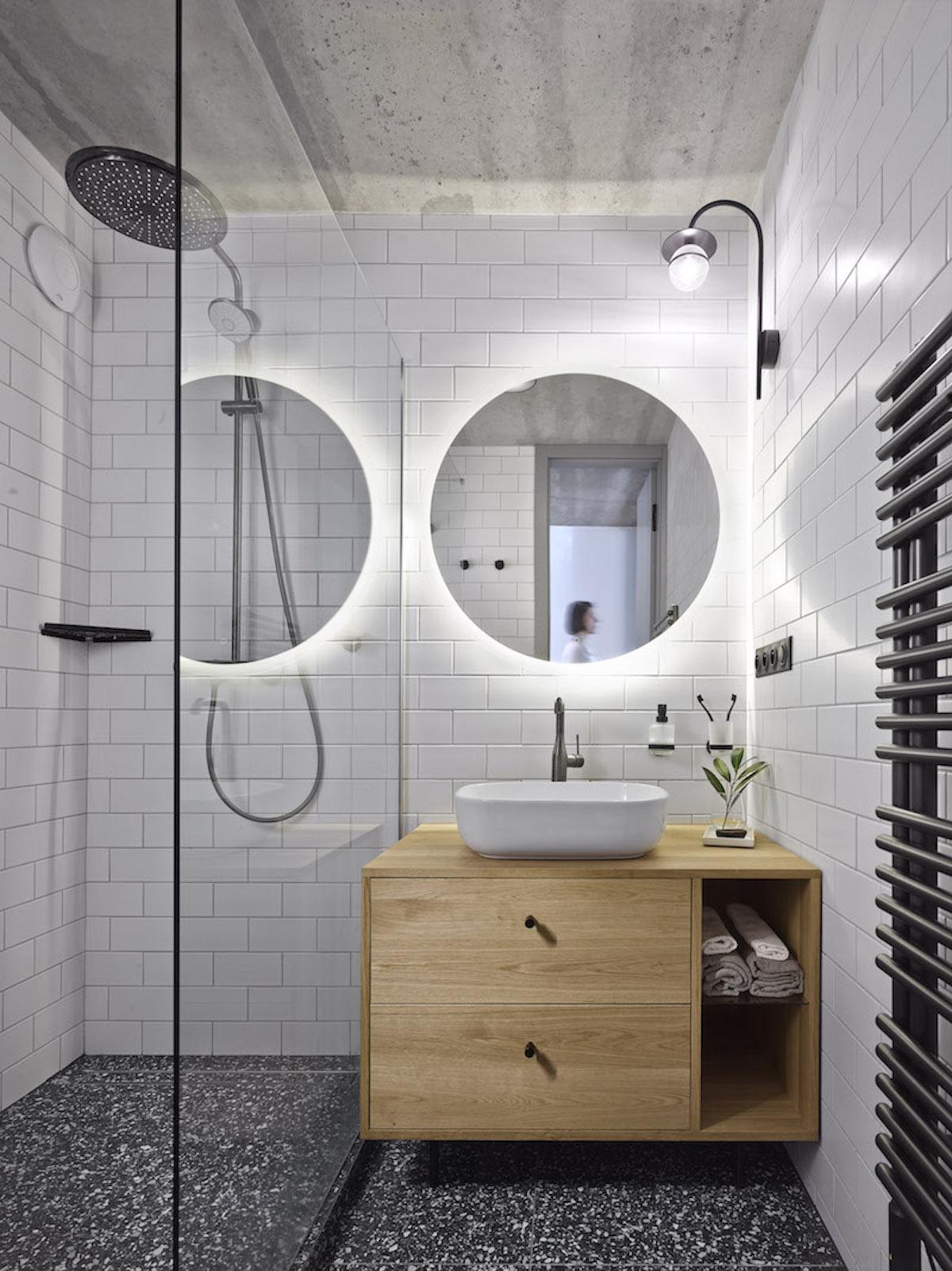 Terazzo v koupelně