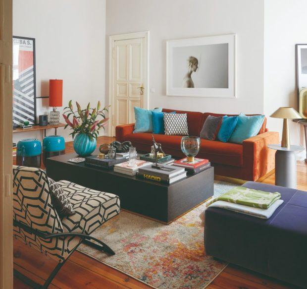 Oáza klidu ve velkoměstě: Rozlehlý světlý byt s vysokými stropy