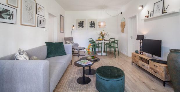 I sídlištní byt s mnoha typickými panelákovými neduhy se může stát krásným domovem