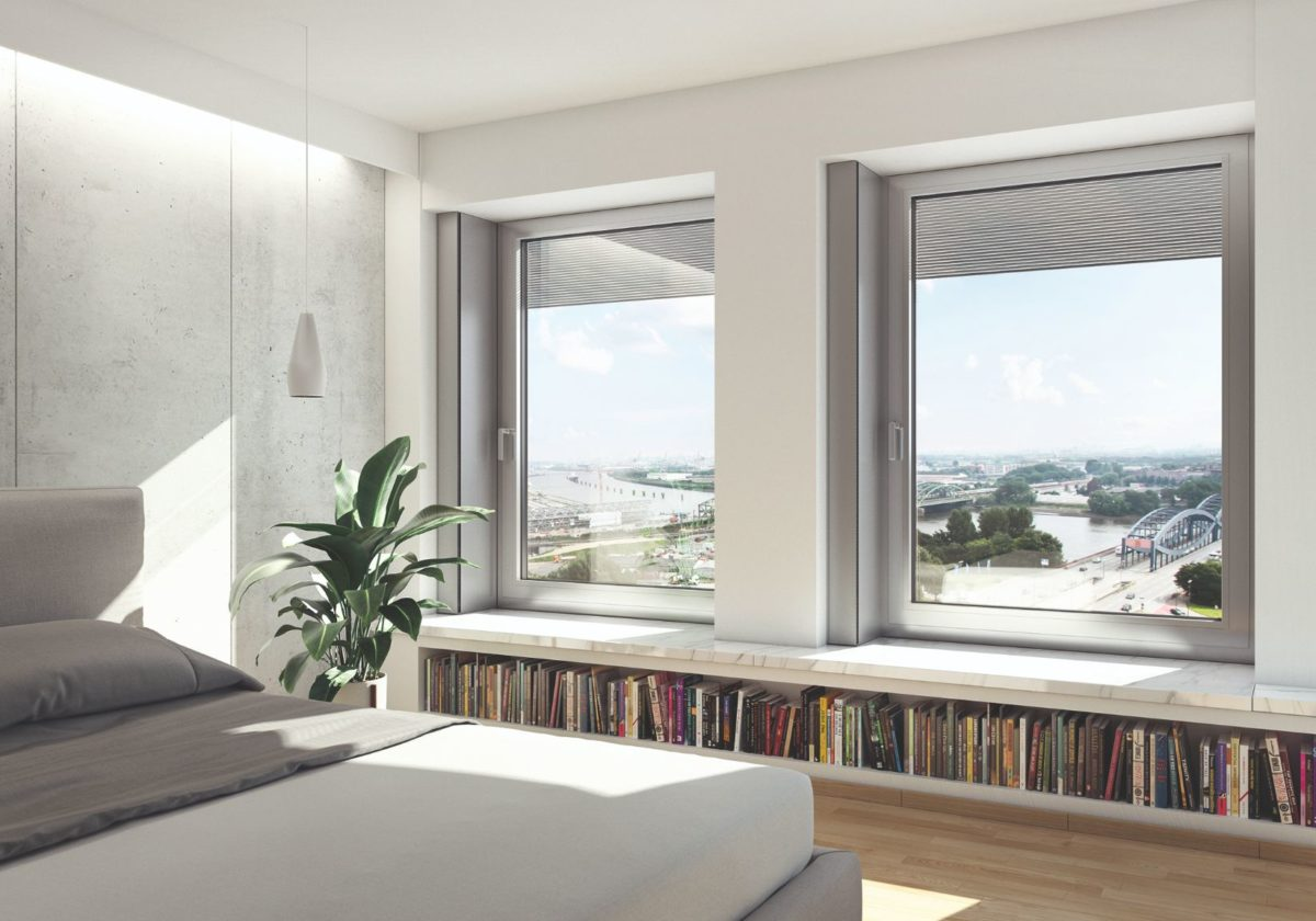 Okna s panoramatickým výhledem