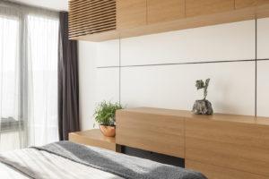 Nadčasový mezonet ložnice