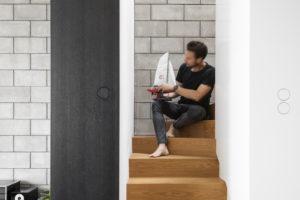 Nadčasový mezonet schody do patra