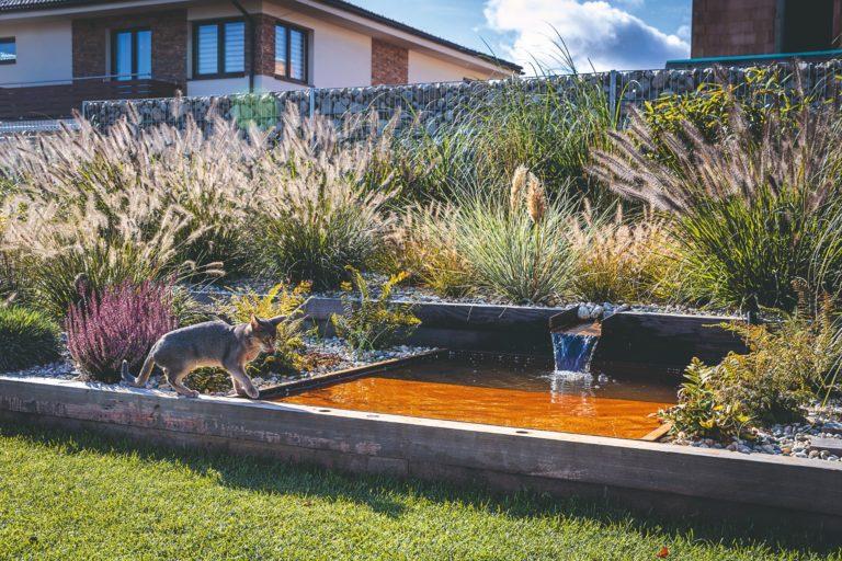 Vysněnou zahradu u domu si v malé vesničce zrealizovali za dva měsíce