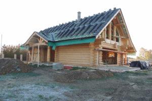Moderní srubové stavby realizace