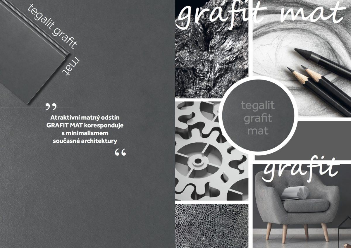 Společnost BRAMAC rozšířila nabídku portfolia o elegantní matný odstín grafit mat