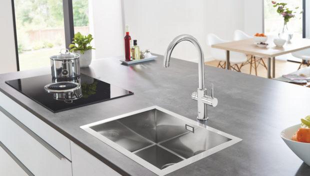 Kuchyňské systémy GROHE Blue vám ukážou, že ta nejlepší voda je u vás doma