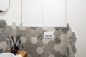 Toaleta hexagon