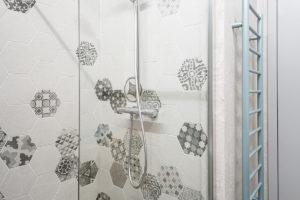 Sprchový kout hexagon