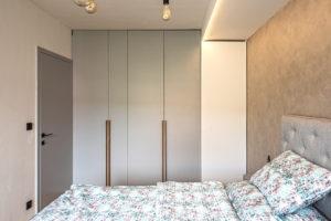 Dizajnové svítidlo v ložnici