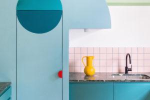 Kuchyň s terrazzo