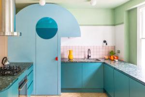 Kuchyň eko materiál terrazzo