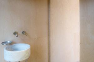 Koupelna v chatce