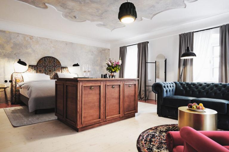 Chcete sbírat lajky na Instagramu? Ubytujte se v hotelu Monastery Garden v Českém Krumlově!
